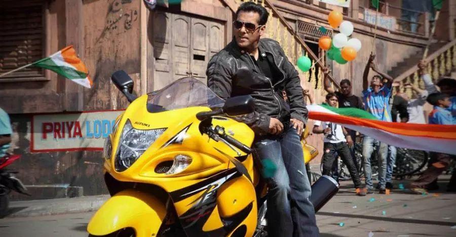 Salman Khan Suzuki Hayabusa Featured