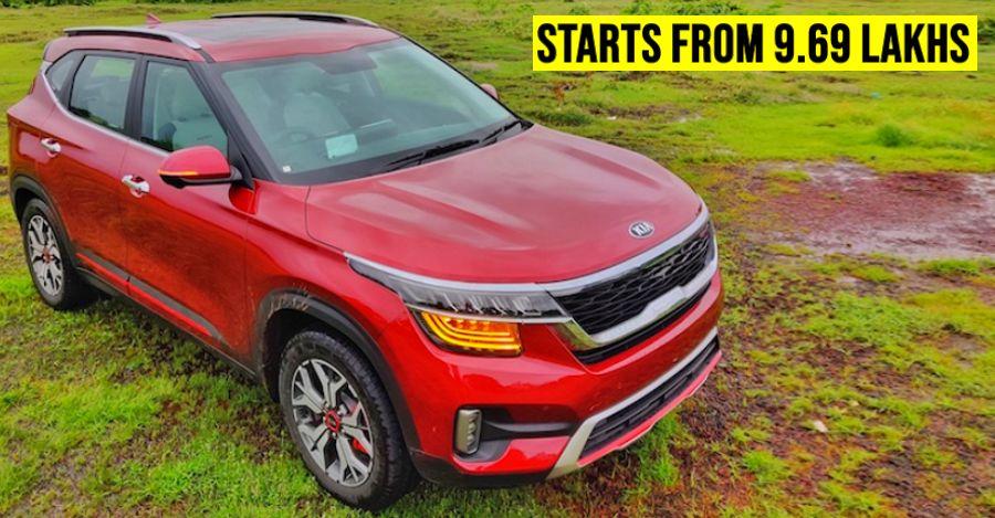 Kia Seltos launched in India: CHEAPER than Hyundai Creta!