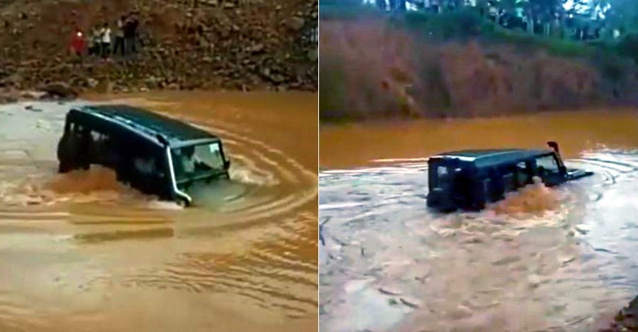 Suv Swimming Featured