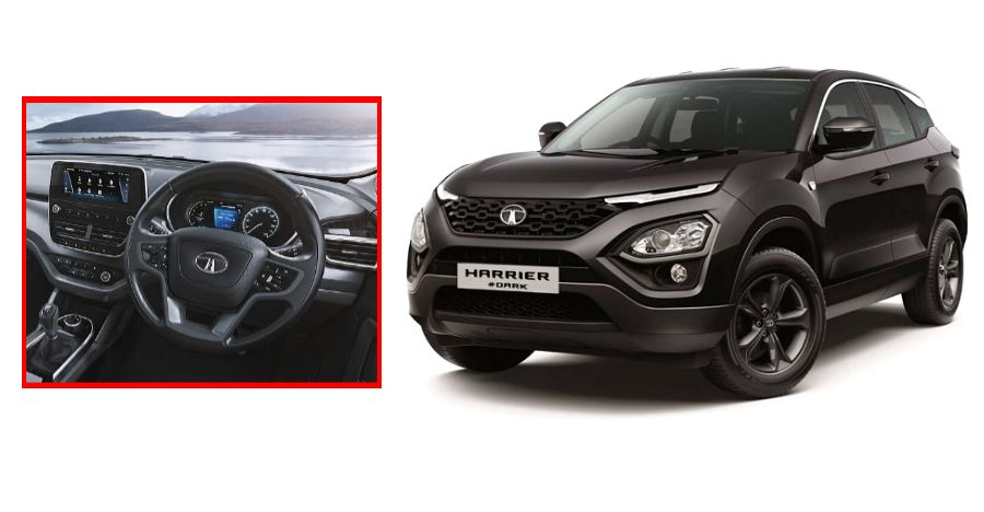 All-black Tata Harrier 'Dark Edition' launched in India: Studio images