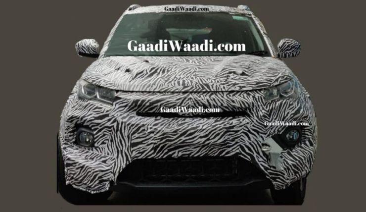 Tata Nexon Facelift Spyshot