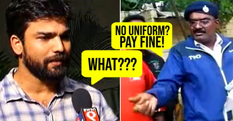 IISC scientist FINED for 'not wearing uniform' while driving a self-drive car [Video]