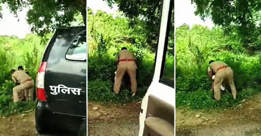 UP Policemen beat each other up for the front seat of patrol Toyota Innova [Video]