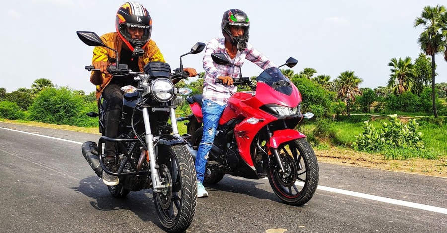 Hero Xtreme 200S vs Xpulse 200T in a classic drag race: Who Wins?[Video]