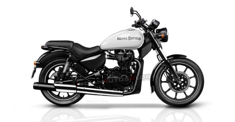 2020 Bs6 Royal Enfield Thunderbird Render Featured