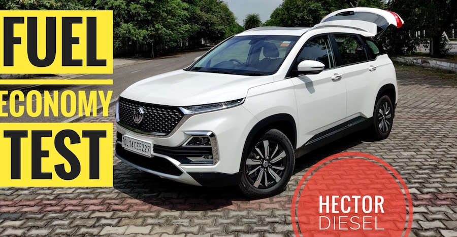 MG Hector Diesel Fuel Economy Test: Can it beat the Tata Harrier? [Video]