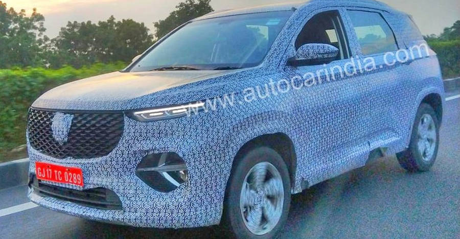 Mg Hector 6 Seater Spyshot Featured