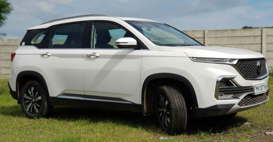 Almost-new used MG Hector petrol hybrid for sale; Priced higher than the new model