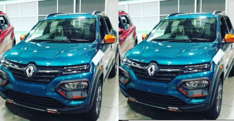 Renault Kwid Facelift Front Featured
