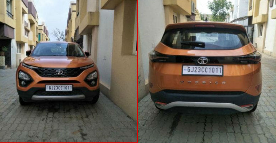 Hardly used Tata Harrier XZ top-end for sale at a chunky discount