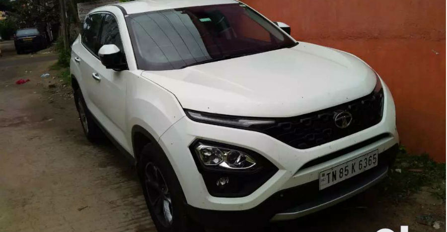 Used Tata Harrier SUVs in almost-new condition for sale at much lower prices