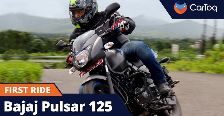 Bajaj Pulsar 125 Neon test drive review : the new sporty commuter?