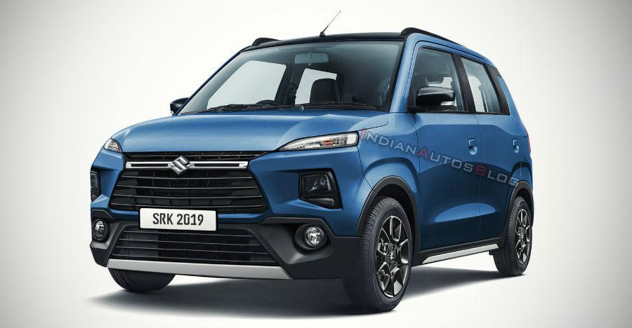 Maruti XL5 hatchback based on new WagonR SPIED testing [Video]