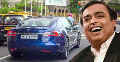 Ambani Tesla Featured