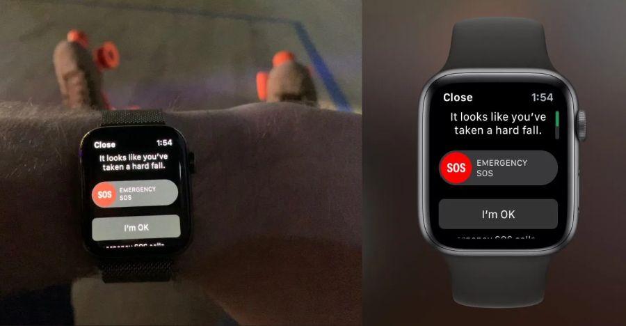 Apple Watch Hard Fall Featured