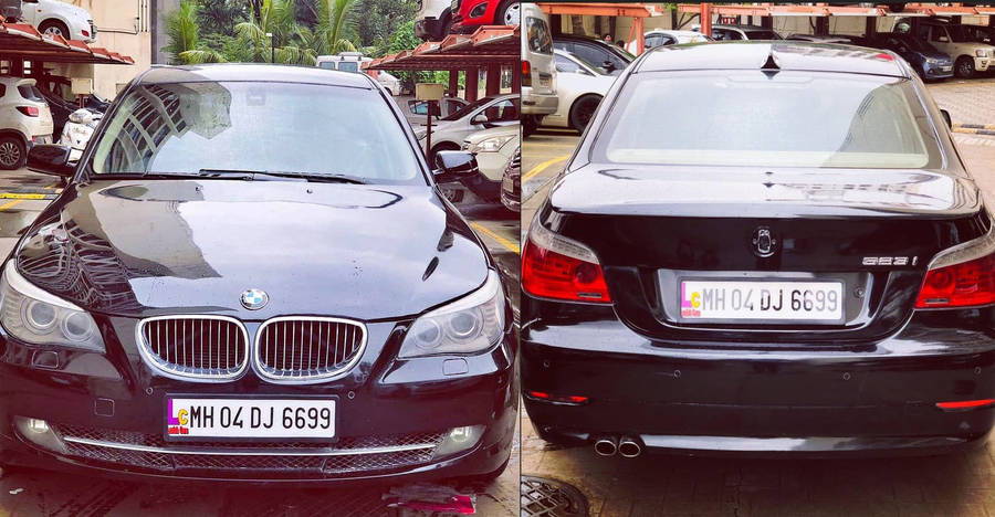 This well-maintained BMW 5-series is selling for less than a Maruti WagonR