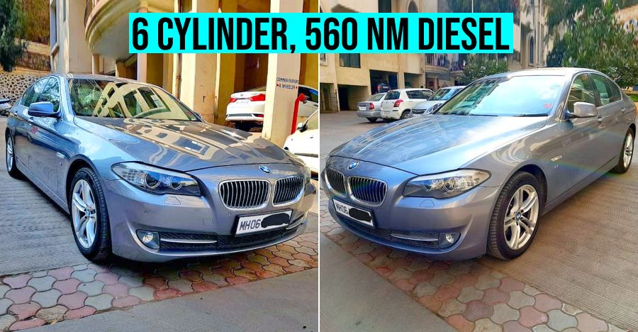 Used BMW 5-Series Diesel with 560 Nm of BRUTE torque selling for less than a new Honda City