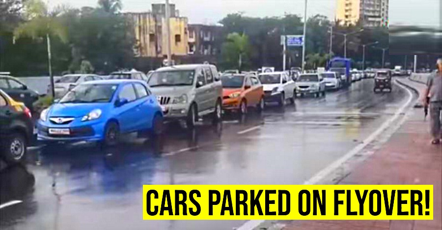 Cars Parked On Flyover Featured