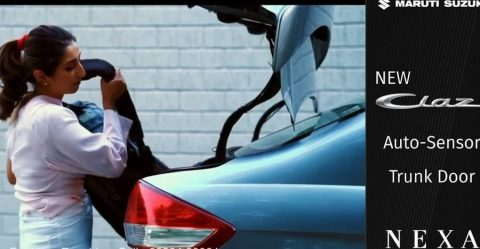 Ciaz Auto Trunk Open