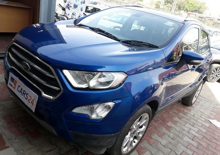 Ford Ecosport Automatic Used 2