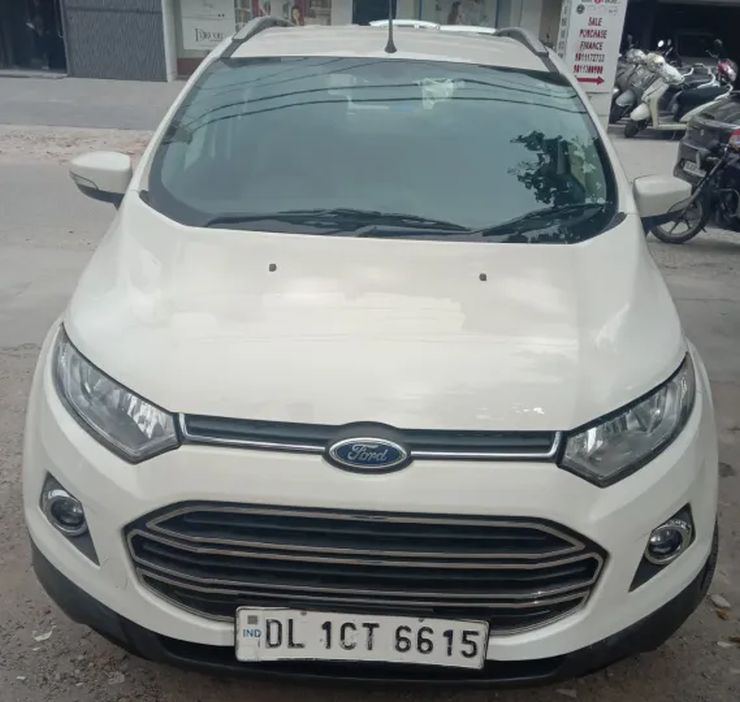 Ford Ecosport Automatic Used 3