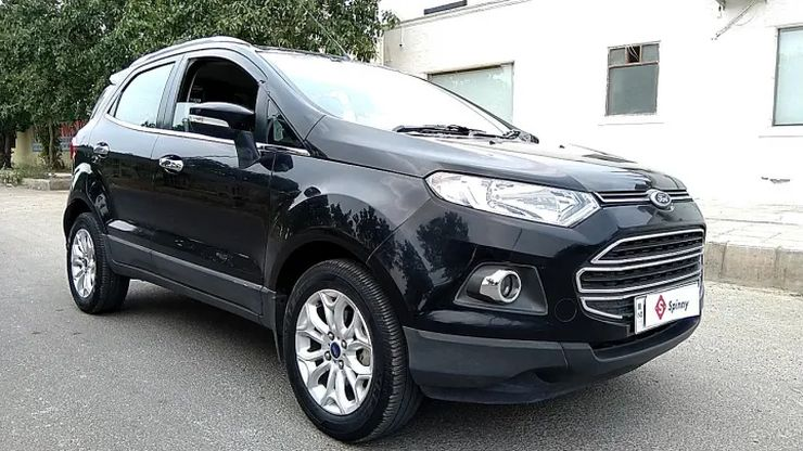 Ford Ecosport Automatic Used 4