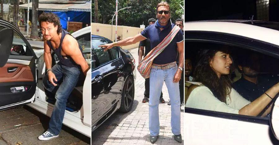 Tiger Shroff, Jackie Shroff & their opulent car garage