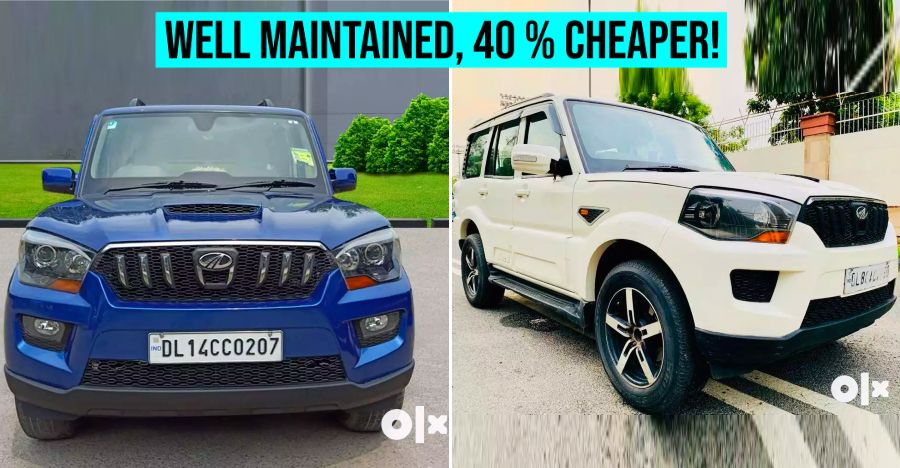 Well maintained, used new-gen Mahindra Scorpio SUVs selling 40 % cheaper than a new one