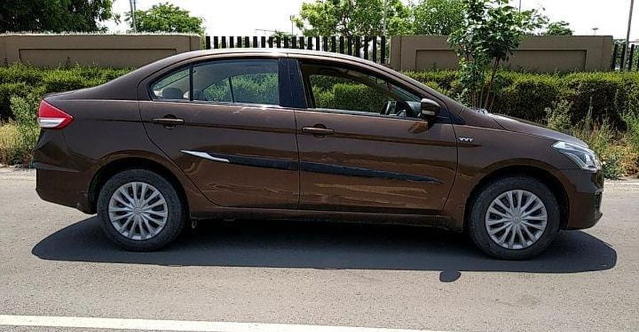 5 Maruti Ciaz sedans around 2 years old selling for more than Rs. 2 lakhs discount