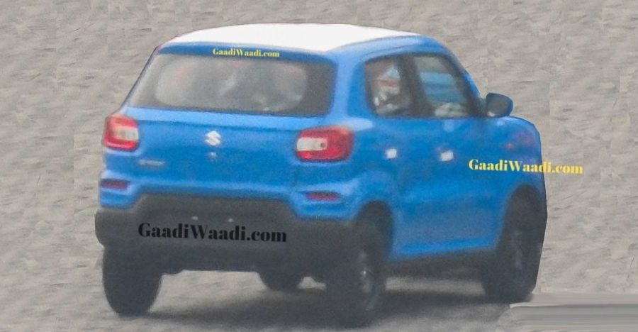 Maruti S Presso Rear Spyshot Featured