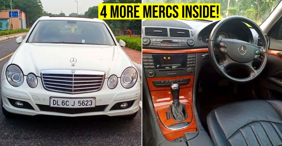 5 used Mercedes-Benz luxury sedans you can buy for under Rs. 8 lakh: C-Class to E-Class
