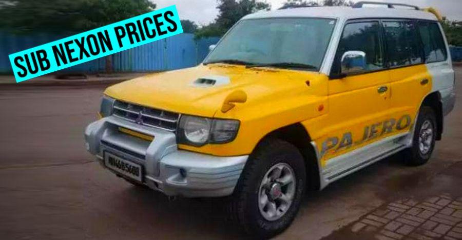 Well maintained, used Mitsubishi Pajero SUVs cheaper than brand-new Tata Nexon