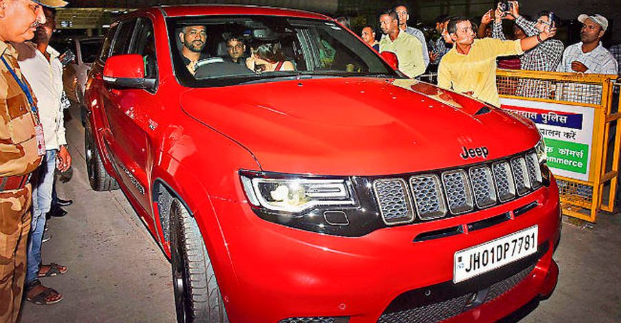 Ms Dhoni Jeep Trackhawk Featured