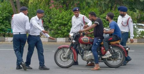 New Traffic Fines India Featured