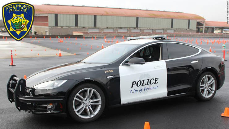 This Police Department's Tesla Ran Low On Power During A Pursuit