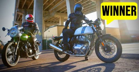 Royal Enfield Continental Gt 650 Vs Kawasaki W800 Cafe Racer Featured