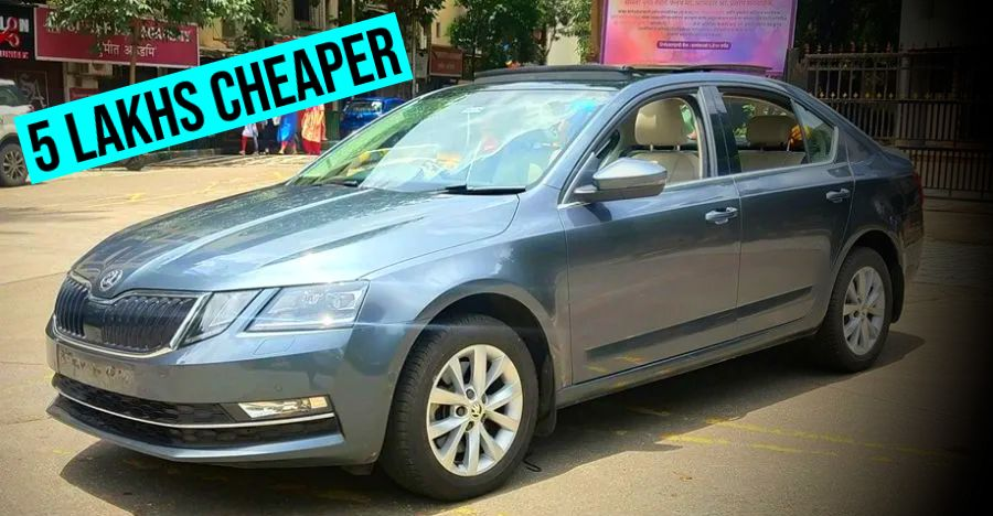 Almost-new used Skoda Octavia for sale: Save more than Rs. 5 lakhs