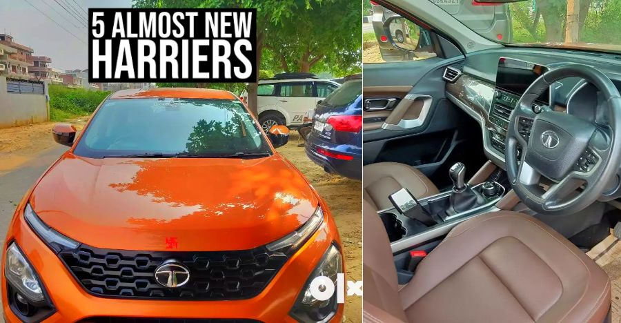 Tata Harrier Used Featured 5