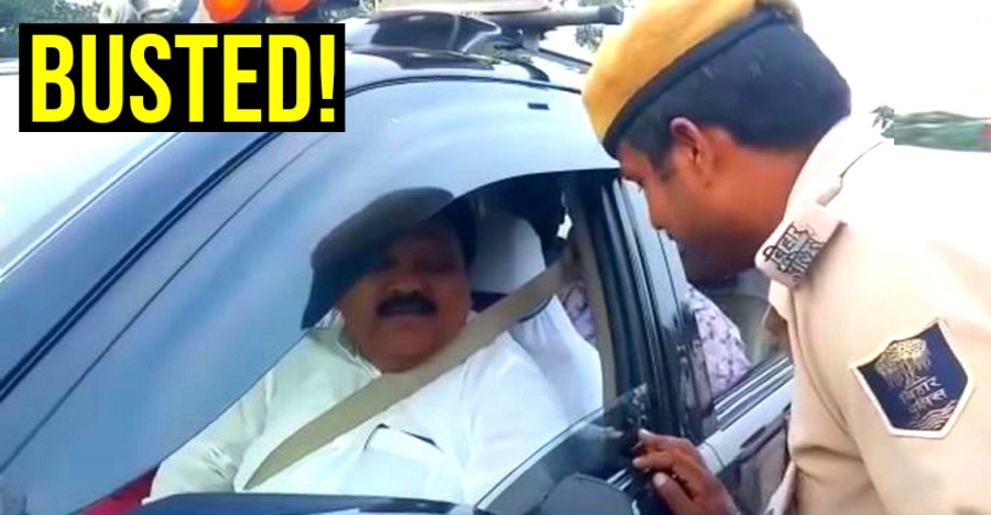 MLA in a Toyota Fortuner FINED for running sun film on SUV [Video]