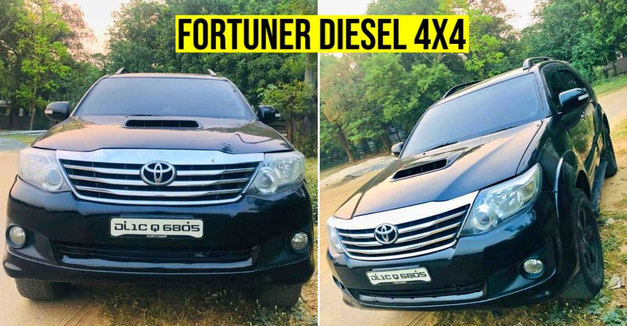 Toyota Fortuner Used Featured