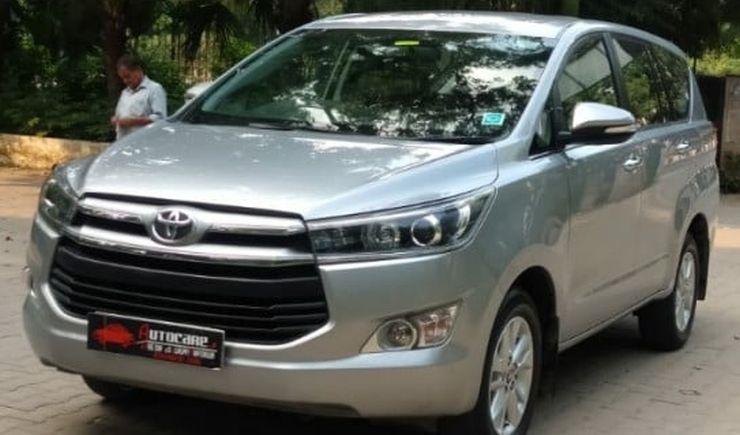 Toyota Innova Crysta Used 4