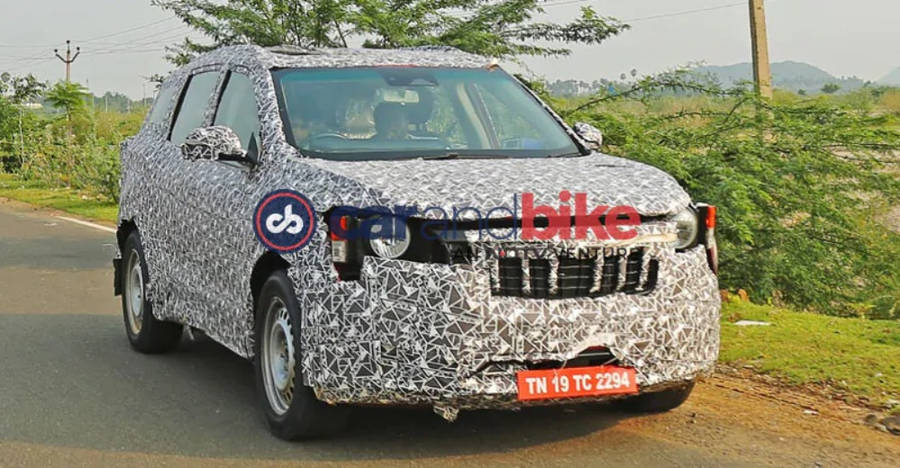 Xuv300 7 Seater Spyshots Features