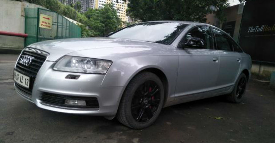 3000cc, used Audi A6 luxury sedan with sunroof for sale for just Rs. 8.5 lakhs