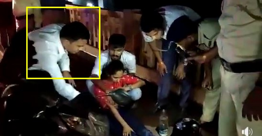 Goa Chief Minister stops, &  helps accident victim: Sets a good example [Video]