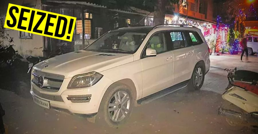 Goodwin Jewellers allegedly abscond: Cops SEIZE Mercedes-Benz SUV worth Rs. 1 Crore!