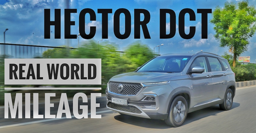 MG Hector Petrol Dual Clutch Automatic: What's the best mileage you can squeeze out of it [Video]