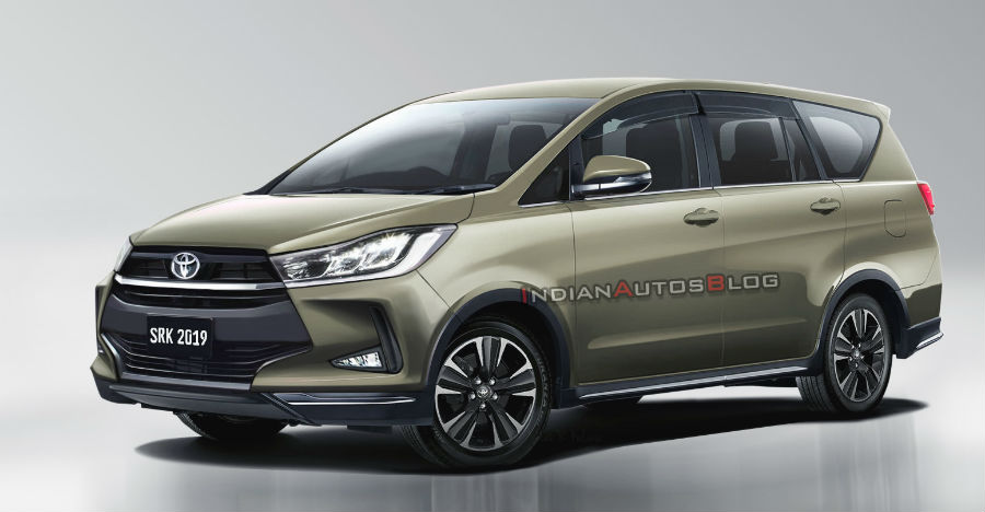 Facelifted Toyota Innova Crysta MPV: What it could look like