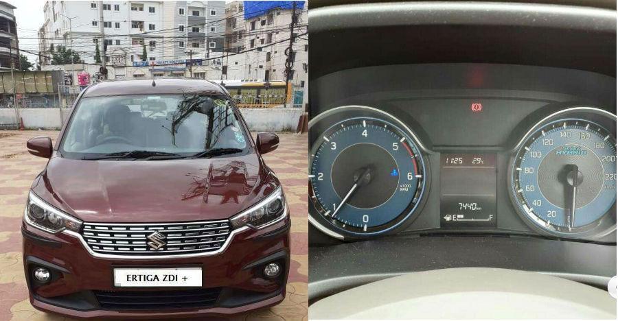 Used Maruti Suzuki Ertiga in almost-new condition available at Rs 1.5 lakh CHEAPER than new model