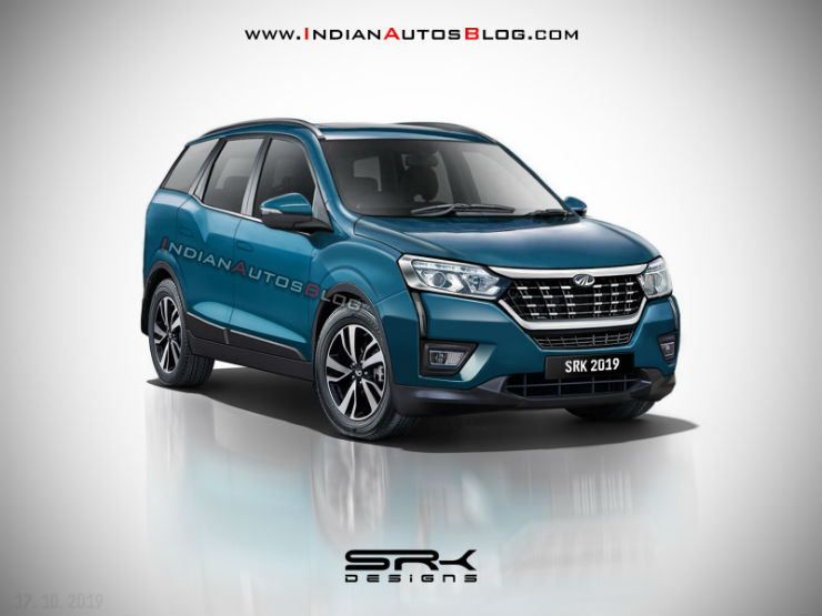Check out this render of the upcoming 7-seat Mahindra XUV300 compact SUV