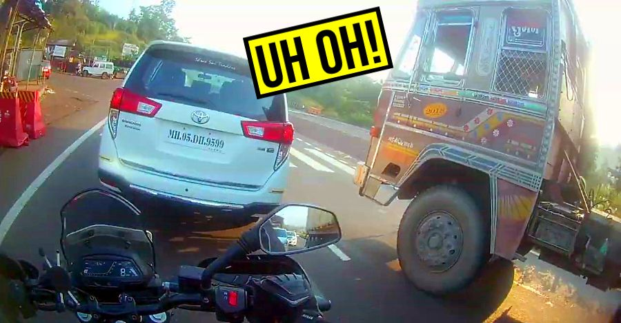 5 times ABS saved bikers' lives: Near misses! [Video]